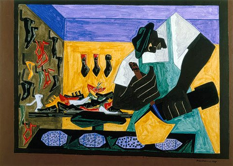 shoemaker-african-american-by-jacob-lawrence