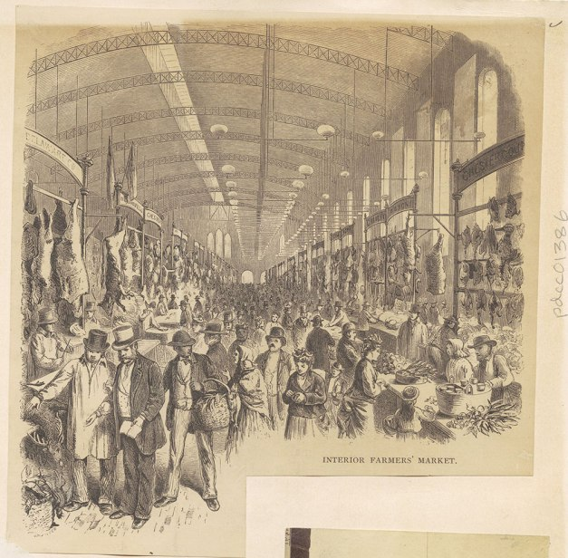 Interior market shed