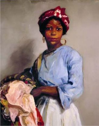 Robert Henri, The Laundress. 1916