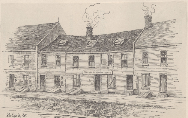 Bedford Street 1854