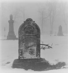 Lavina tombstone
