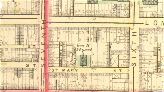 Map of St. Mary's Street.png