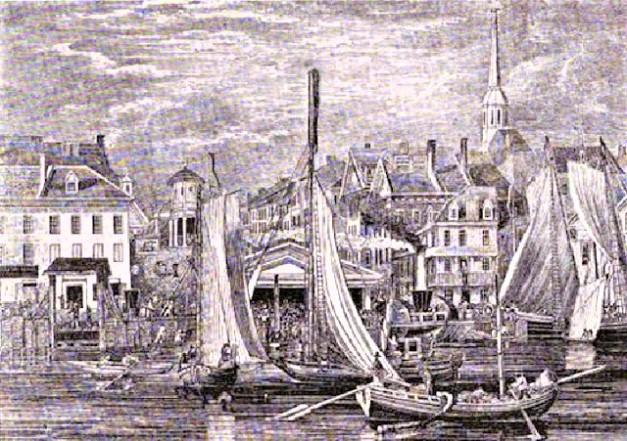 market street wharf 1830
