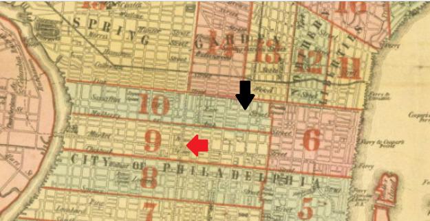 RACE STREET MAP