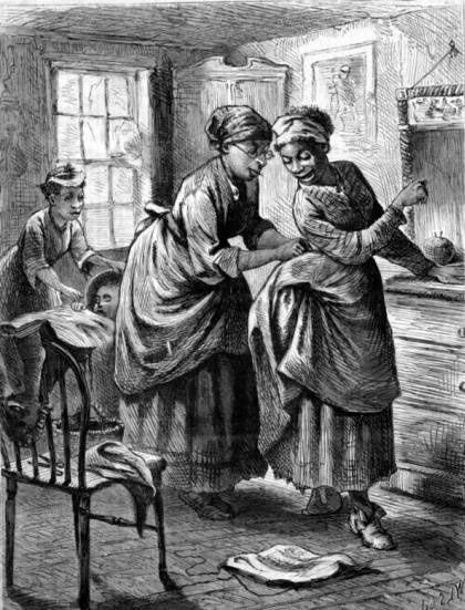 Negro dressmaker