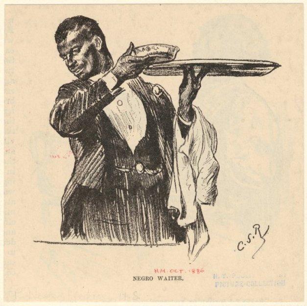 Negro Waiter