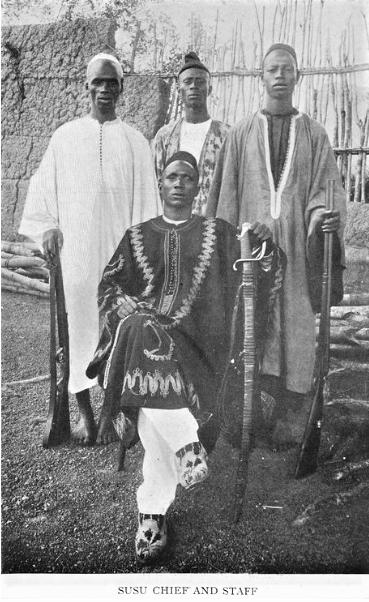 Susu Chief and Staff